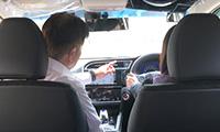 ペーパードライバー講習車内風景